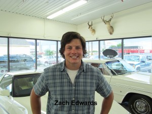 Zach Edwards with text